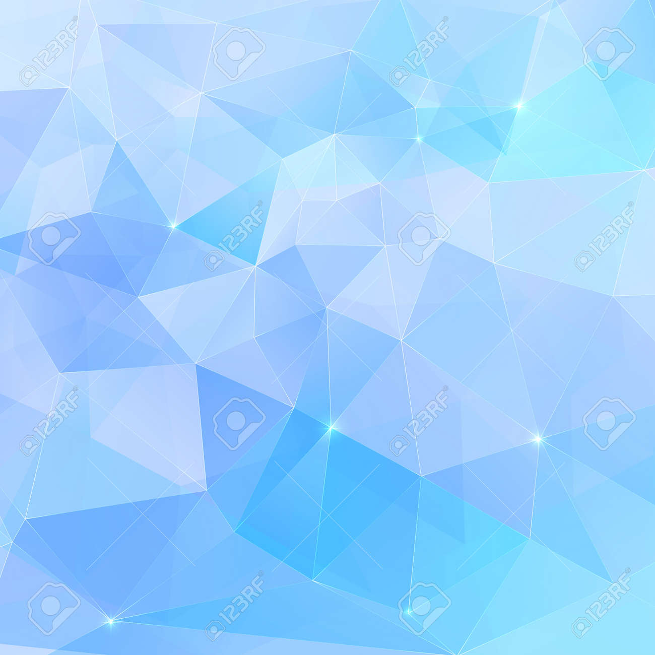Abstract triangles geometry vector background Stock Vector - 19355900