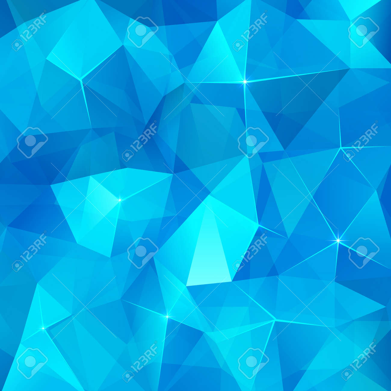 Ice cubes abstract vector background Stock Vector - 19976320