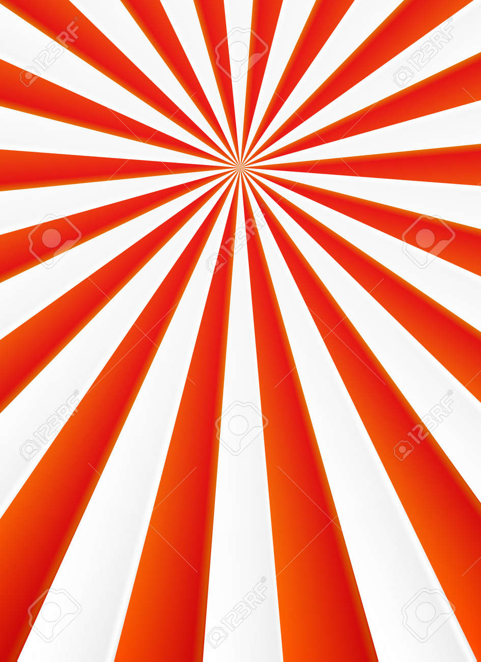 red and white rays vector abstract circus poster background royalty