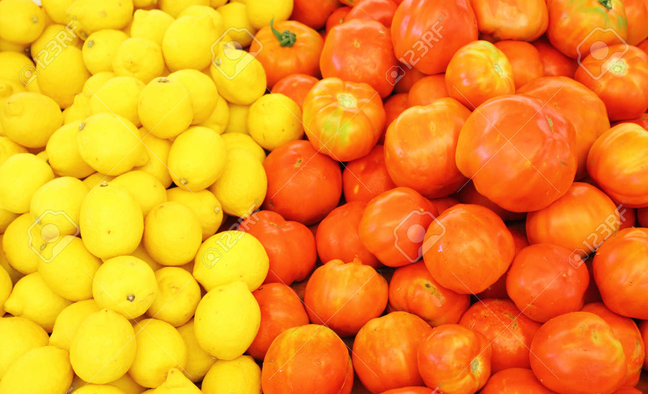 Fresh food produce Stock Photo - 17123422
