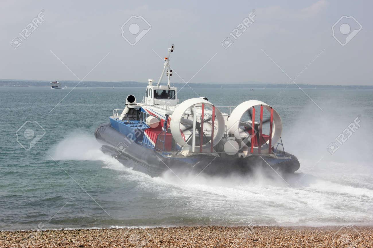 Passenger Hovercraft Stock Photo - 17143964