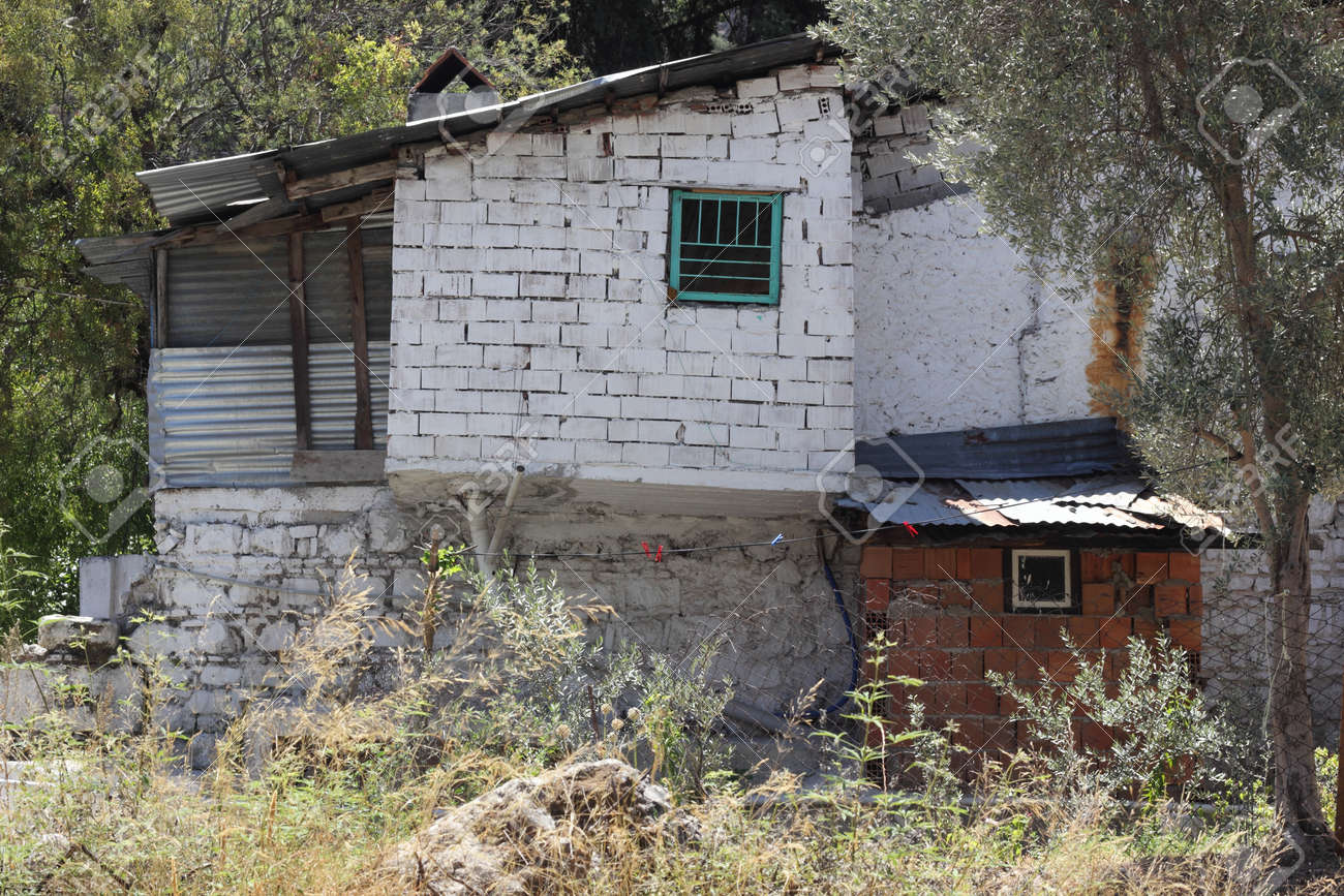 old housing at Fethiye in Turkey Stock Photo - 21765504
