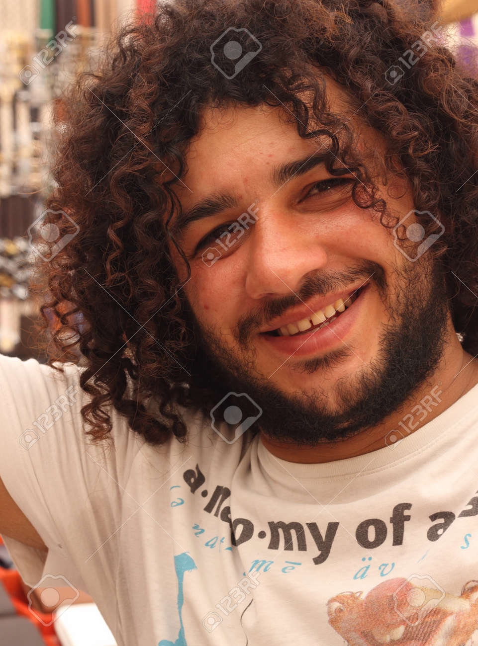 Tremendous A Turkish Young Male With A Beard And Curly Hair 2014 Stock Photo Schematic Wiring Diagrams Amerangerunnerswayorg