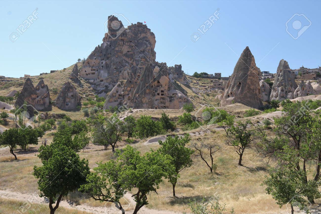 Cheminees De Fee En Cappadoce Goreme Banque D Images Et Photos