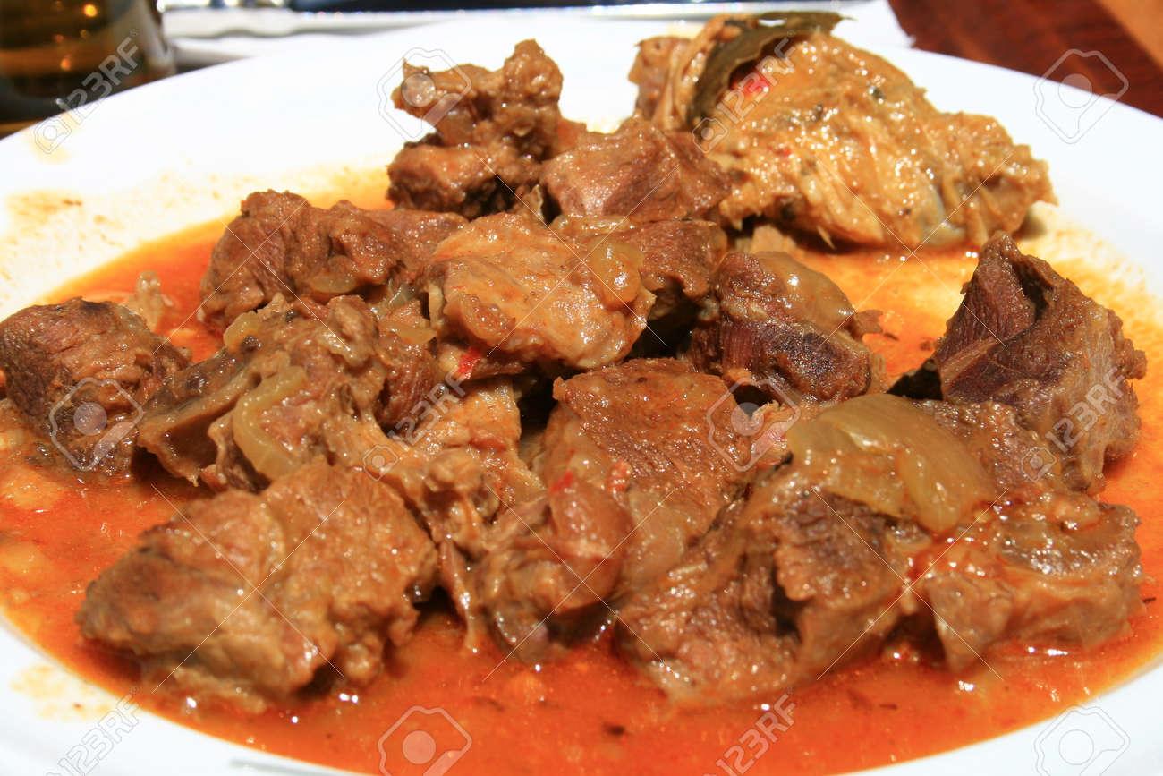 canary islands goat stew Stock Photo - 1638277