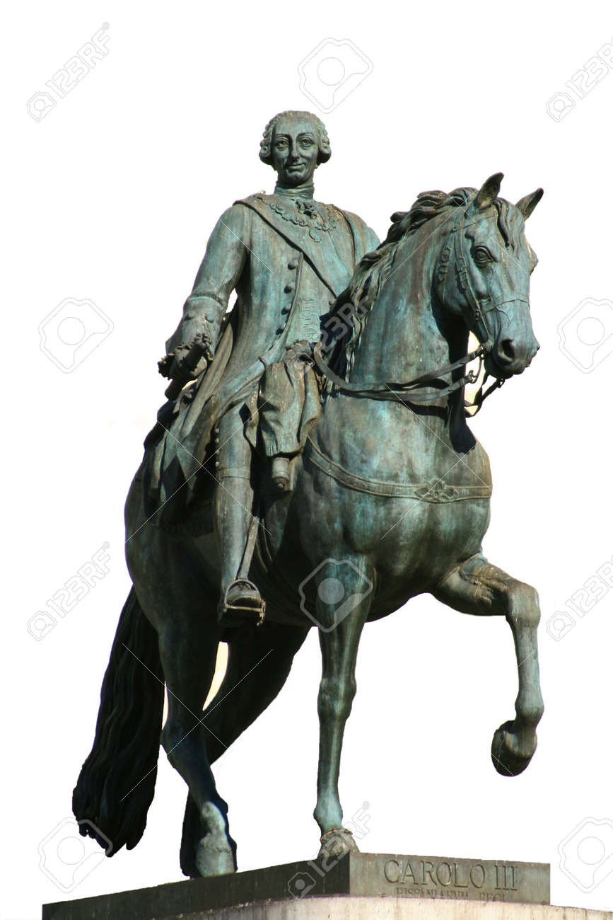 king and first major of Madrid, charles iii Stock Photo - 2536265