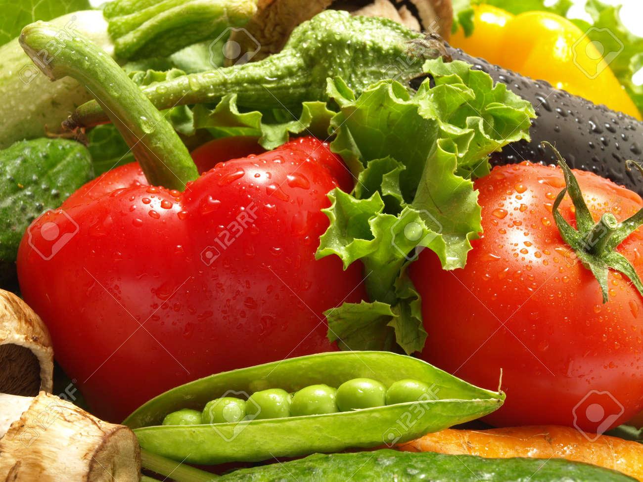 Fresh vegetable Stock Photo - 9863908