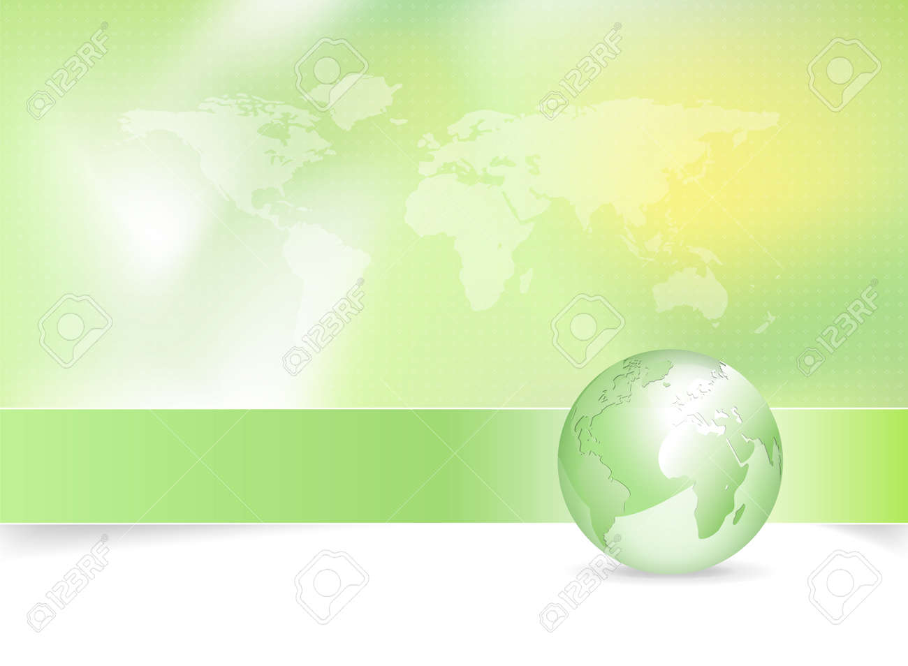 Eco background green earth design with globe and world map royalty eco background green earth design with globe and world map stock vector 10053934 gumiabroncs Choice Image