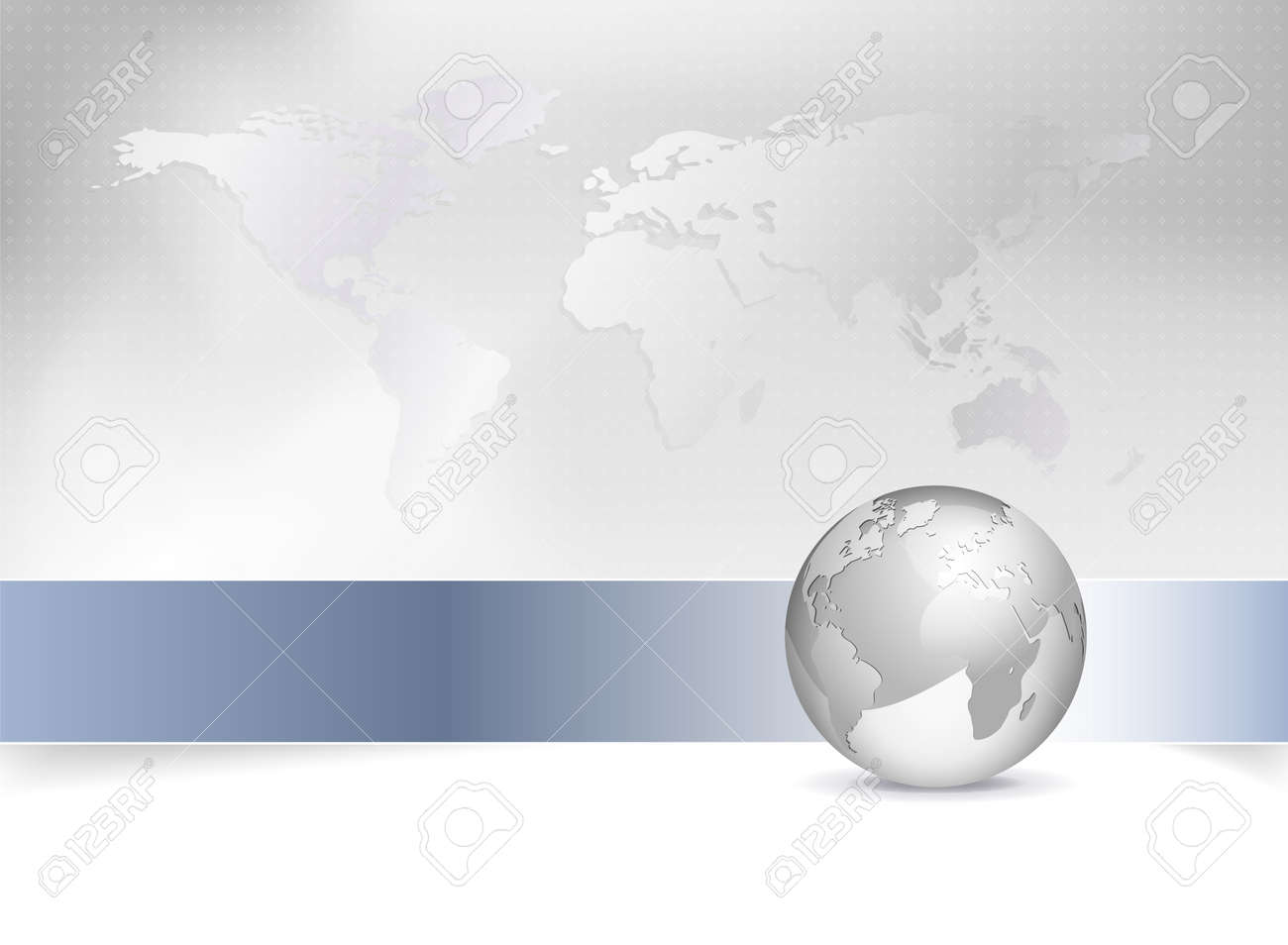 Business map world map globe abstract grey background design business map world map globe abstract grey background design with blue banner stock gumiabroncs Images