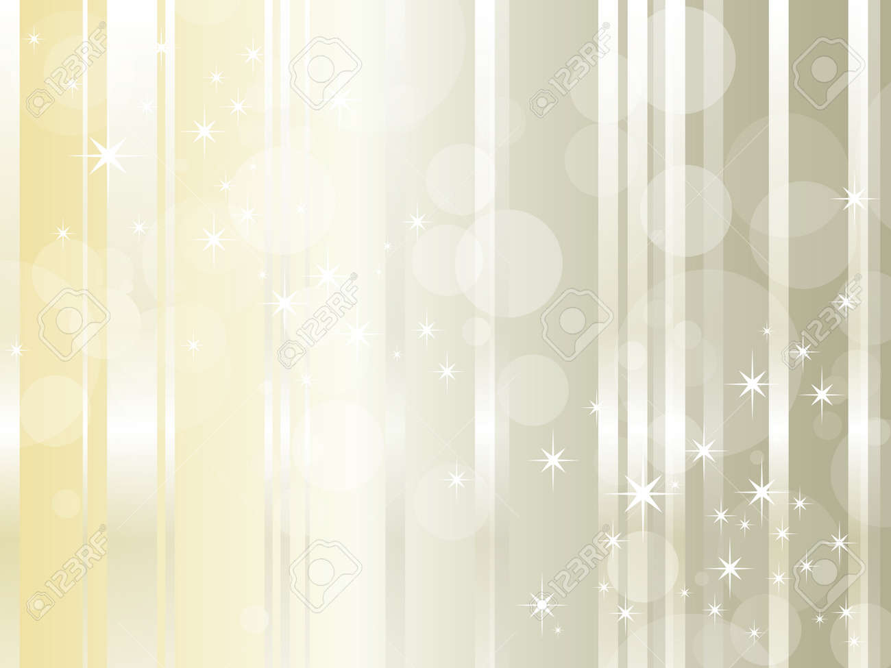 Abstract background design with glossy lines and shiny stars - luxury style - elegant Christmas backdrop with copy space Stock Vector - 10468492
