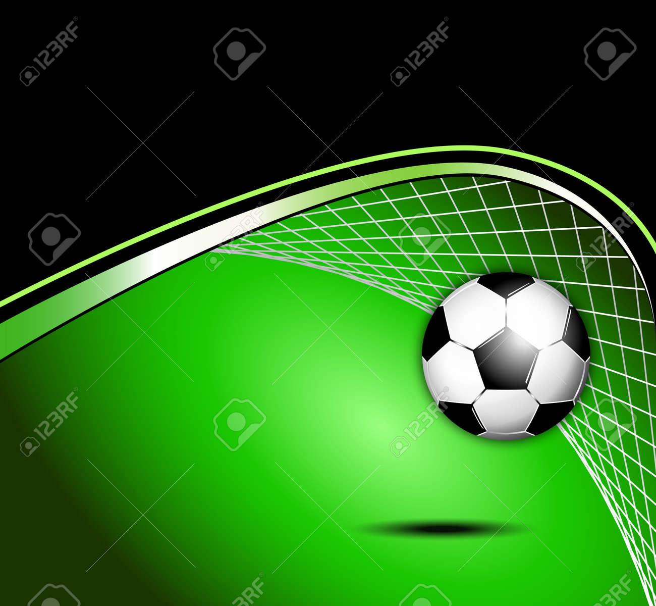 Soccer ball background - 15108808