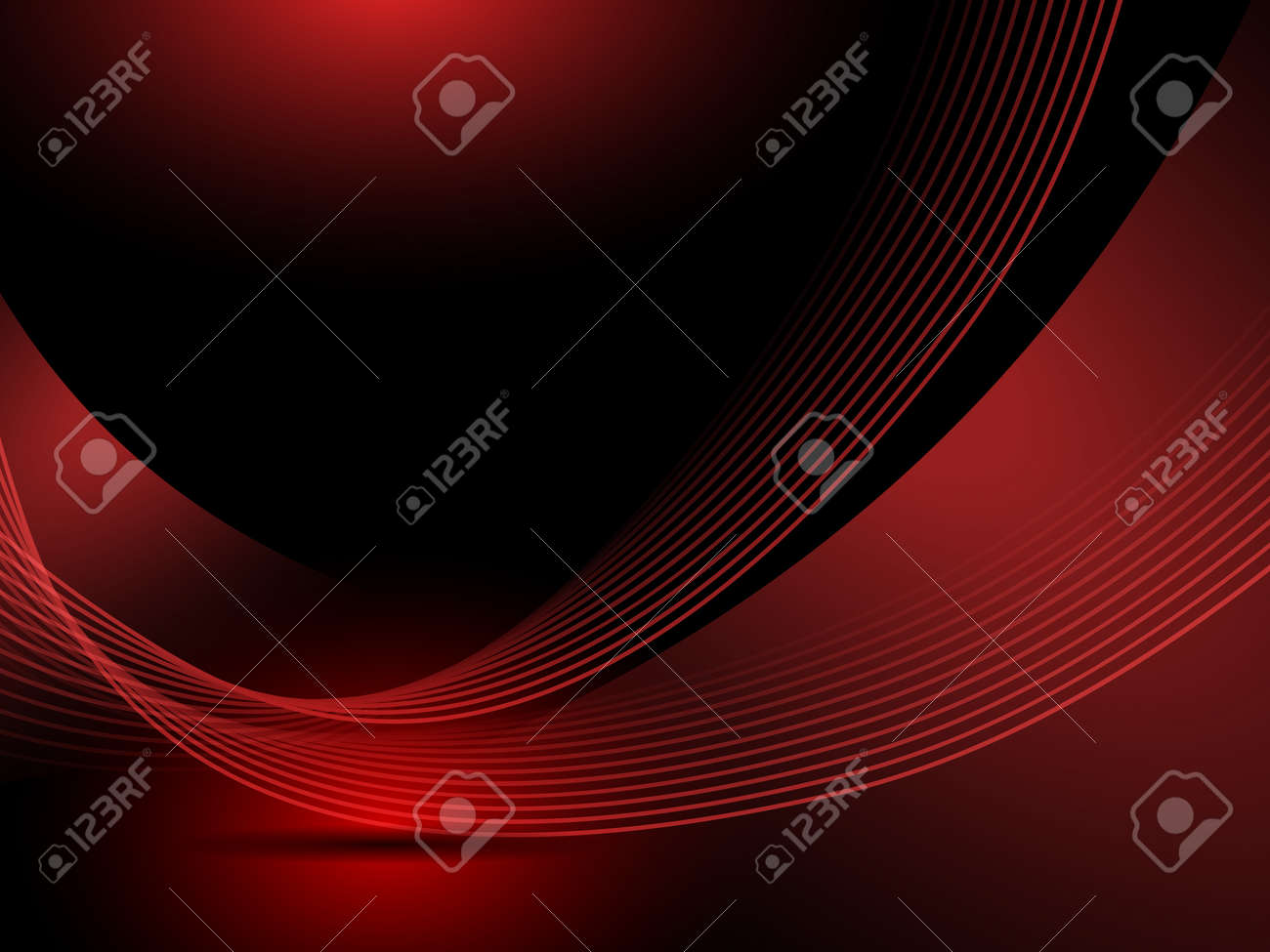 Abstract red background lines - 17901048