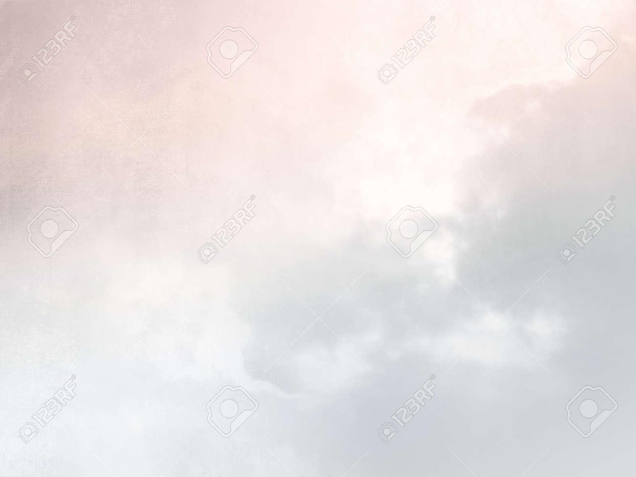 Connu Pastel Texture Fond De Ciel à L'aquarelle Douce Rose Gris Banque D  DM21