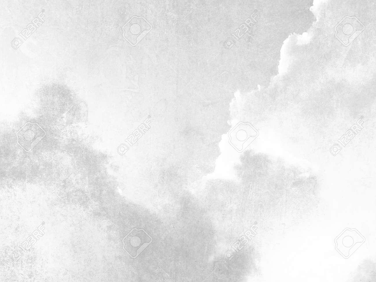 Bien connu Gris Rétro Ciel Texture De Fond à L'aquarelle Pâle Douce Banque D  SZ08