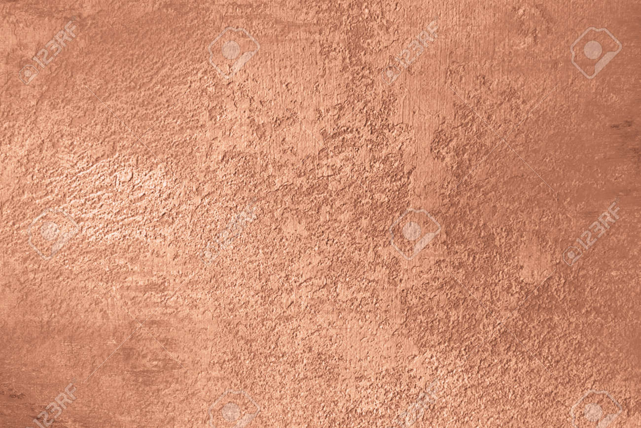 Copper background with brushed polished texture - 94040965