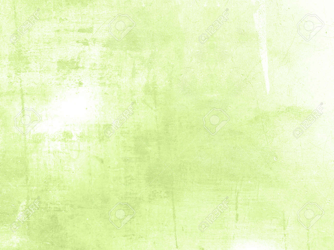 Light Green Background Abstract Spring Design In Soft Pale