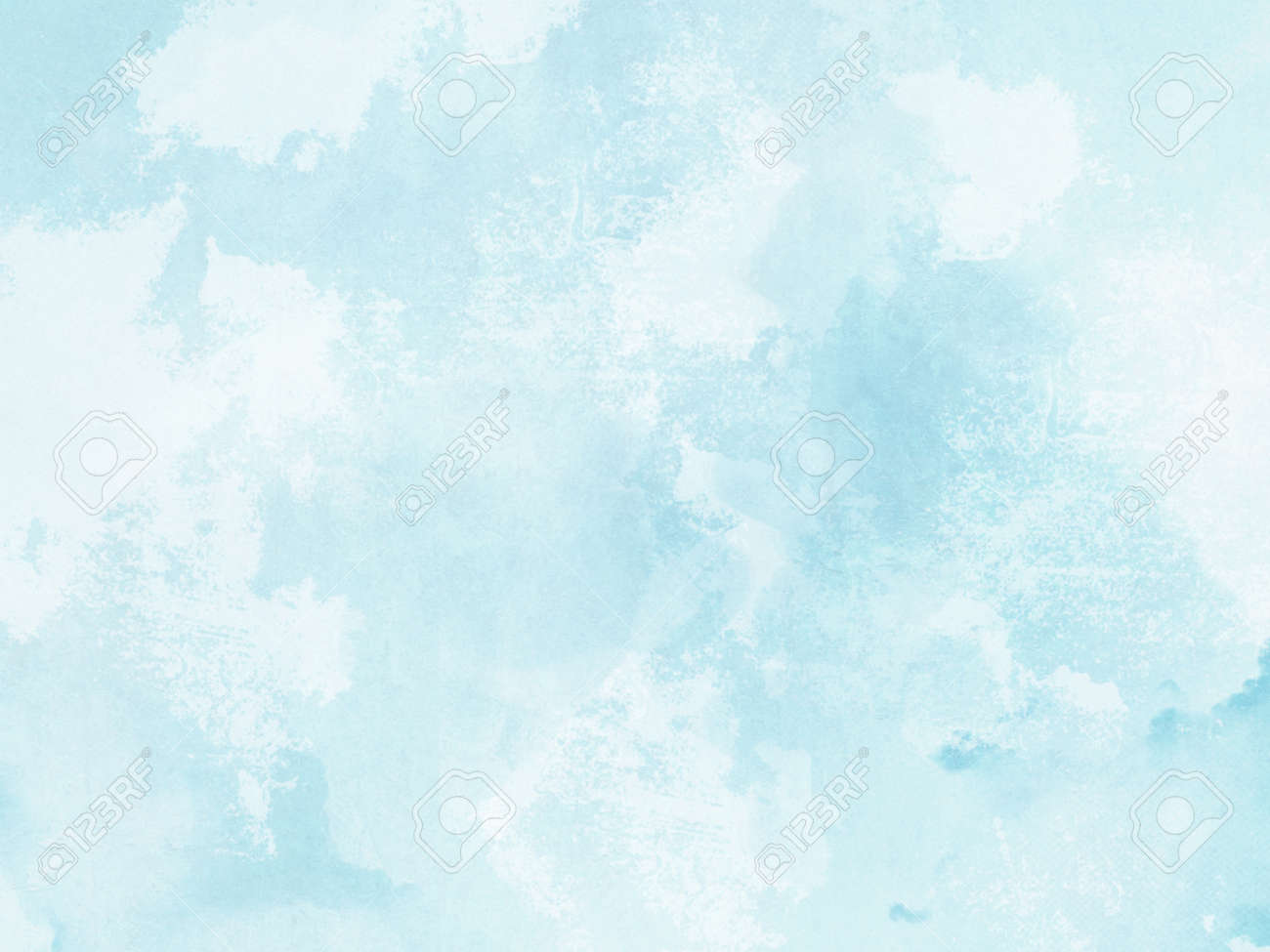 Watercolor Background Abstract Pastel Blue Texture Stock Photo Picture And Royalty Free Image Image 105288604