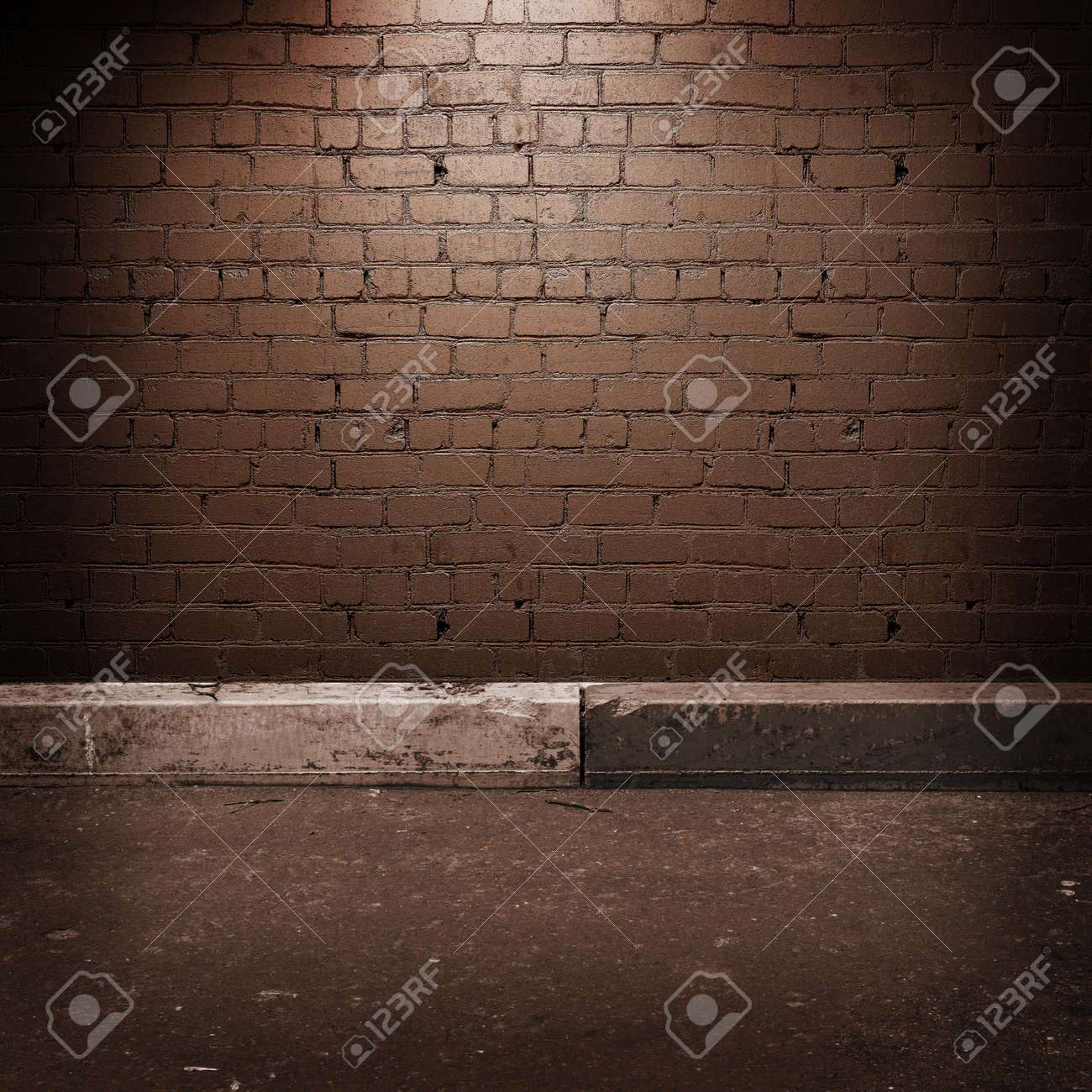 Old vintage border and wall Stock Photo - 9281001