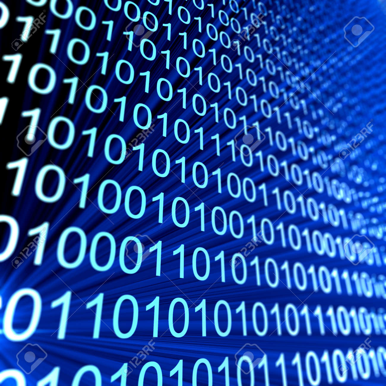 Code numbers. Computer data coding Stock Photo - 10358712