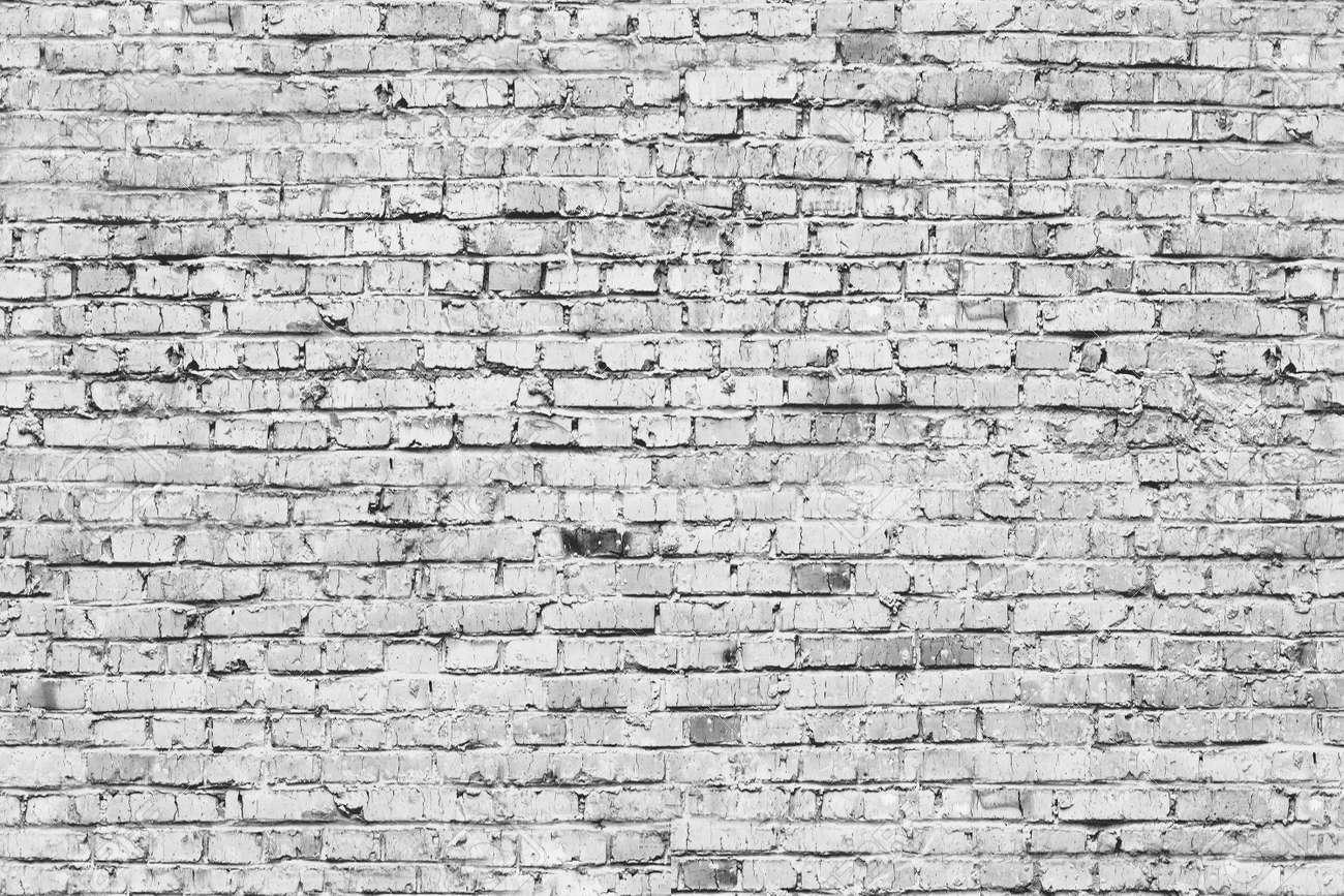 Seamless Bricks Grey Background Texture Stock Photo