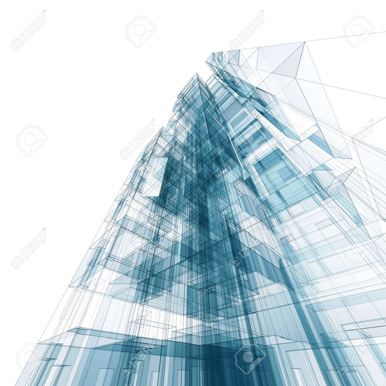 bstract Building rchitecture Design nd Model My Own Stock Photo ... - ^