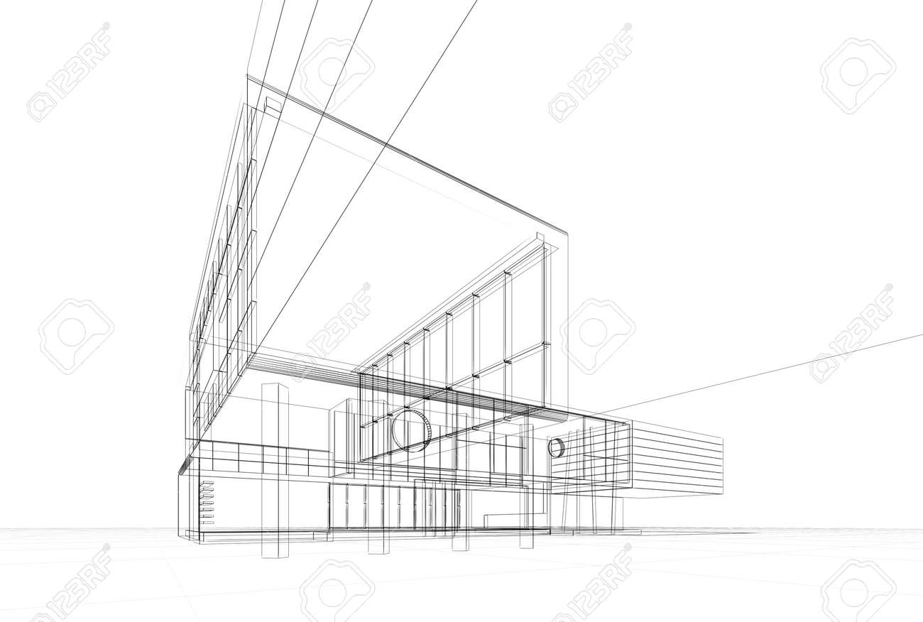 Architecture blueprint on white background stock photo picture and architecture blueprint on white background stock photo 16810652 malvernweather Image collections