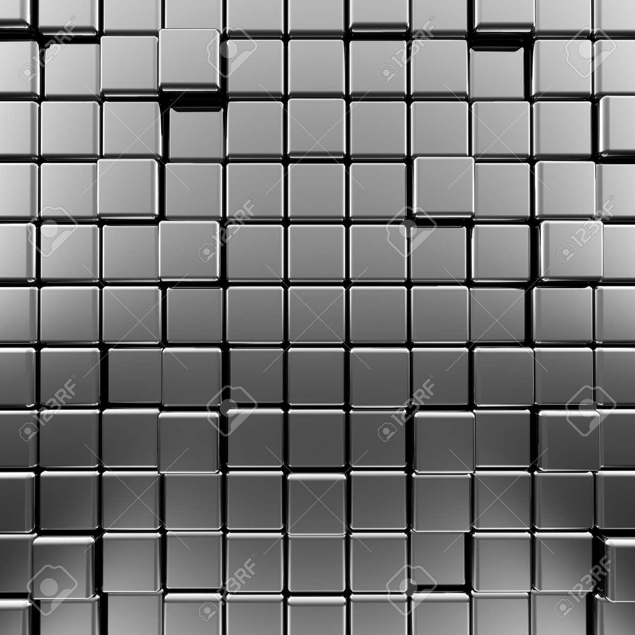 Metallic background  High quality 3d render Stock Photo - 17898036