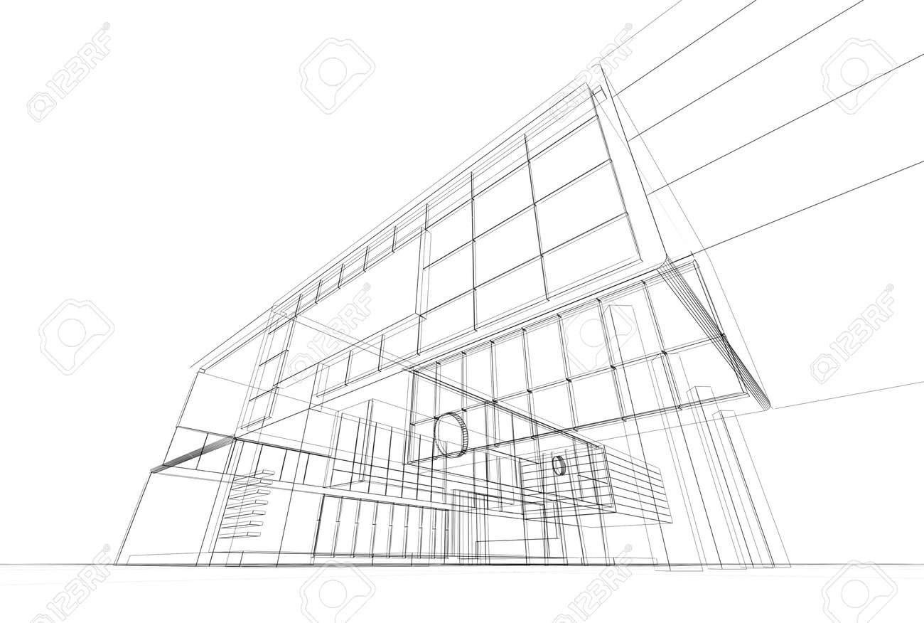 Architecture blueprint on white background stock photo picture and architecture blueprint on white background stock photo 17900835 malvernweather Image collections