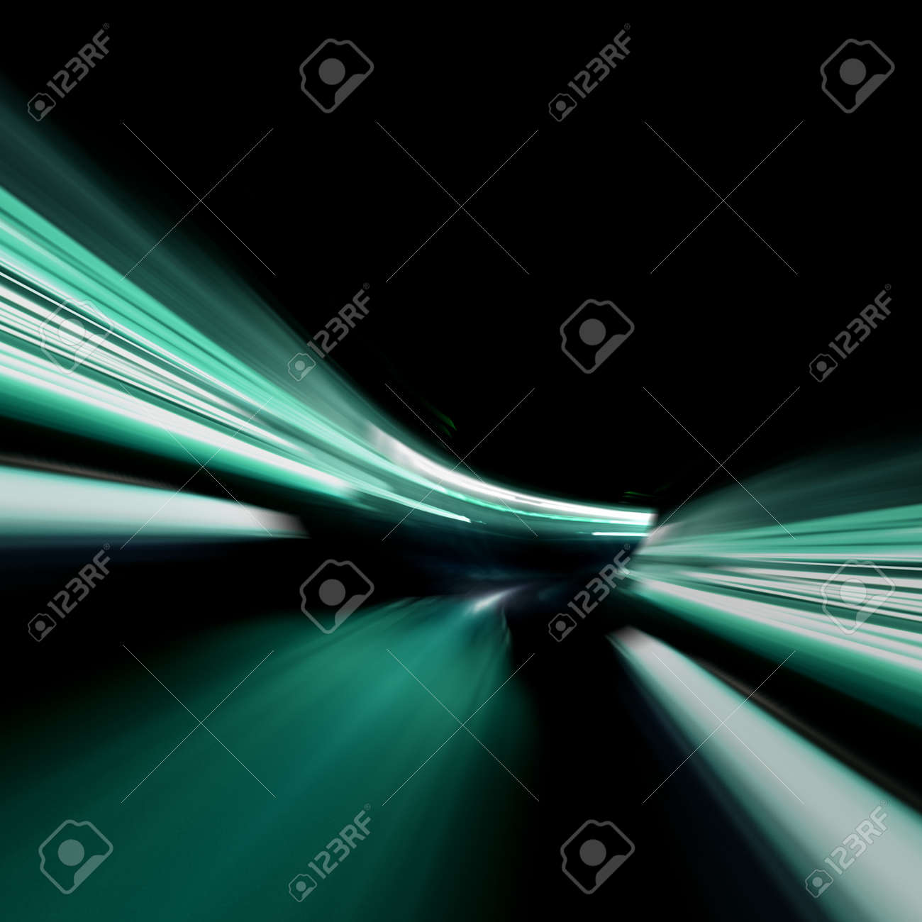 Special effects abstract  3d rendering