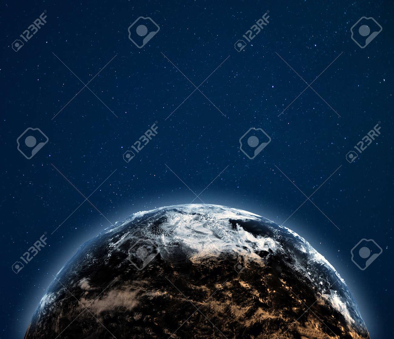 World globe weather background. - 121589566