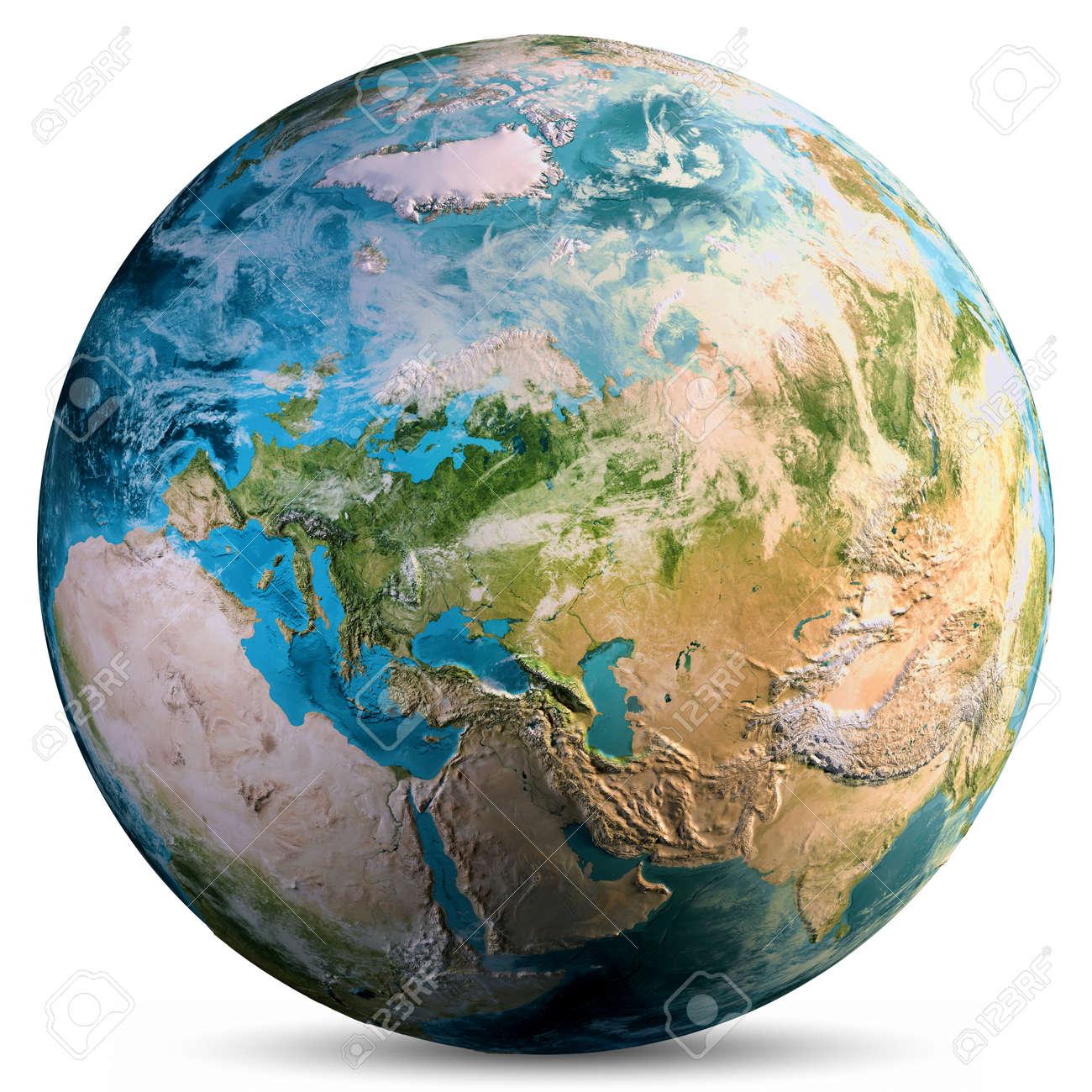 Planet Earth world. - 121762331
