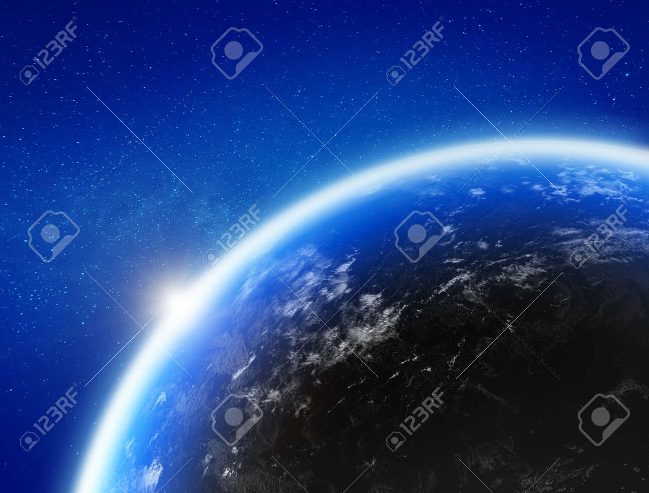 Earth from space - 145000314