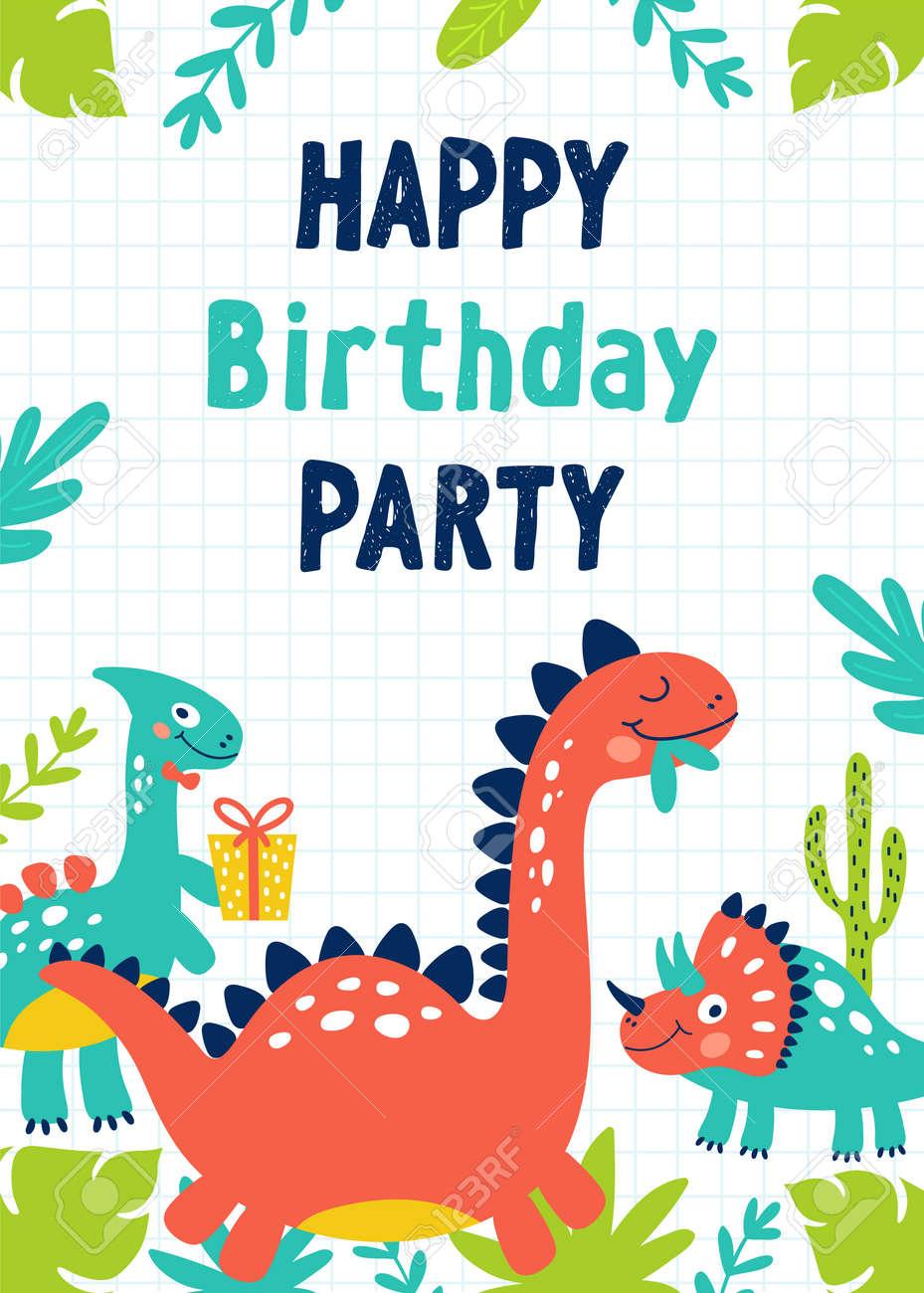Dinosaur Party Invitations NEW