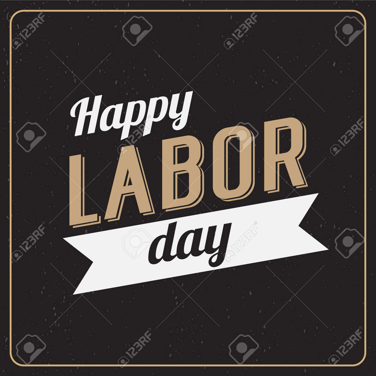 Vector Illustration Labor Day a national holiday of the United States. American Happy Labor Day design poster. - 44206791