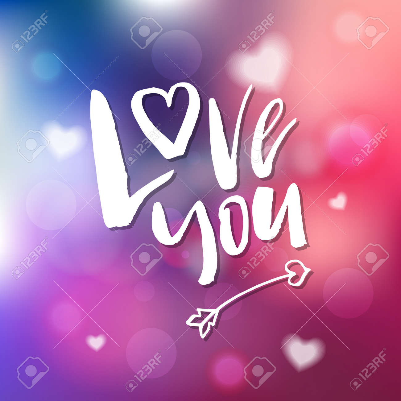 I Love You - Calligraphy for invitation, greeting card, prints, posters. Hand drawn typographic inscription, lettering design. Vector Happy Valentines day holidays quote. - 93304290