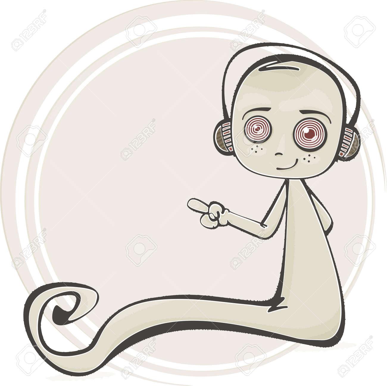 Cartoon illustration of a cute ghost Stock Vector - 15733233