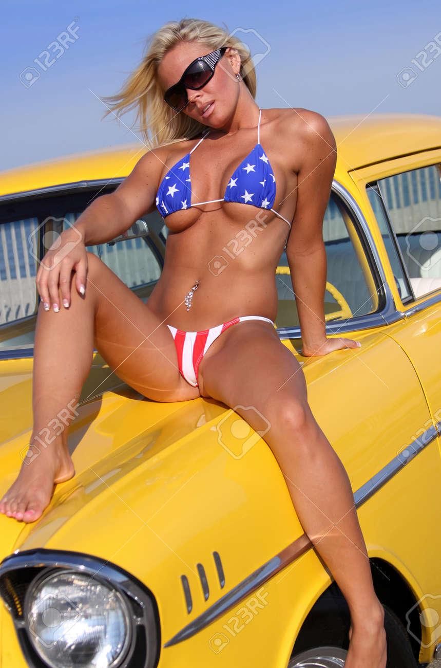 Huge dick stuck in her ass