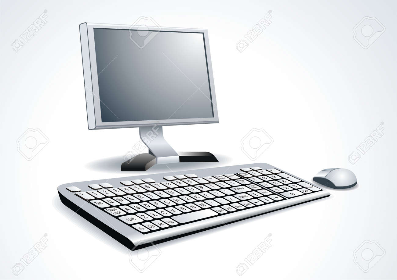 Workplace room with computer Stock Vector - 10283206