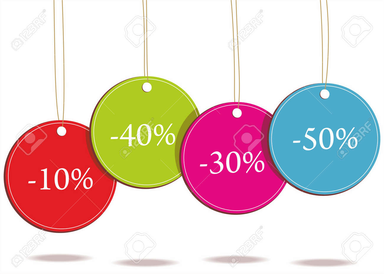 Sale tags. Stock Vector - 10190968