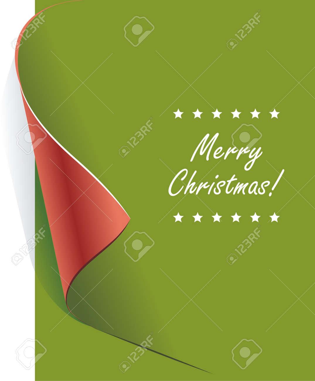 Creative christmas card Stock Vector - 11589991