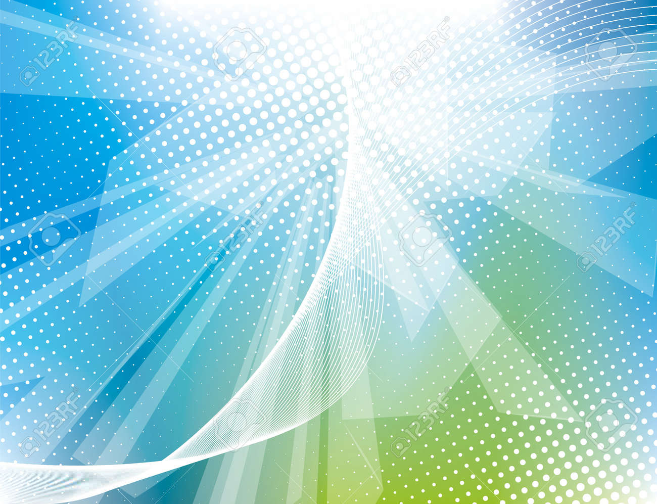 Vector awesome abstract blue backgrounds Stock Vector - 14566385