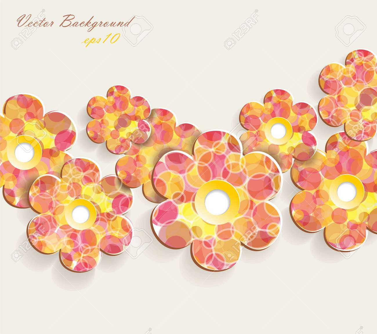 Flower background Stock Vector - 17626536