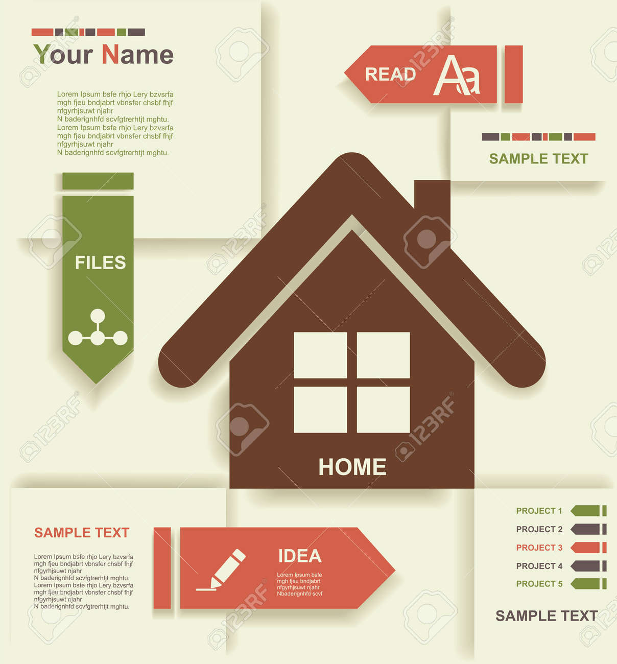 modern home design - Graphic Design From Home