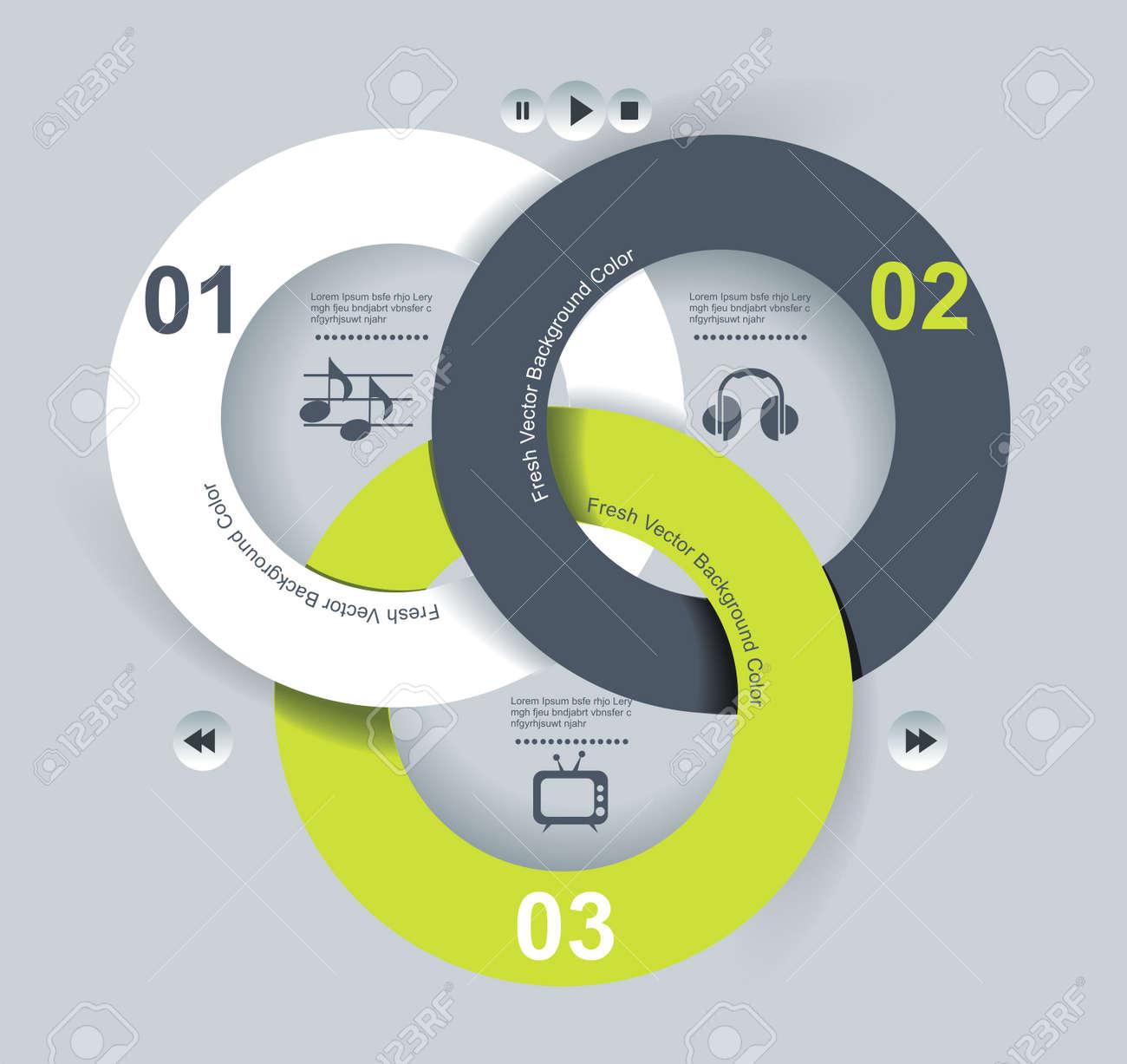 User interface template  Vector illustration Stock Vector - 20142190