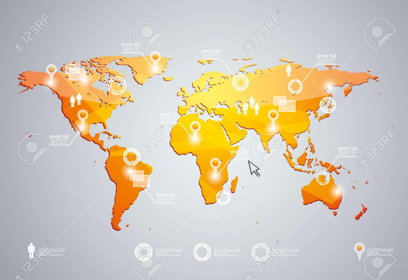 Wunderbar Weltkarte Leere Vorlage Fotos - Beispielzusammenfassung ...