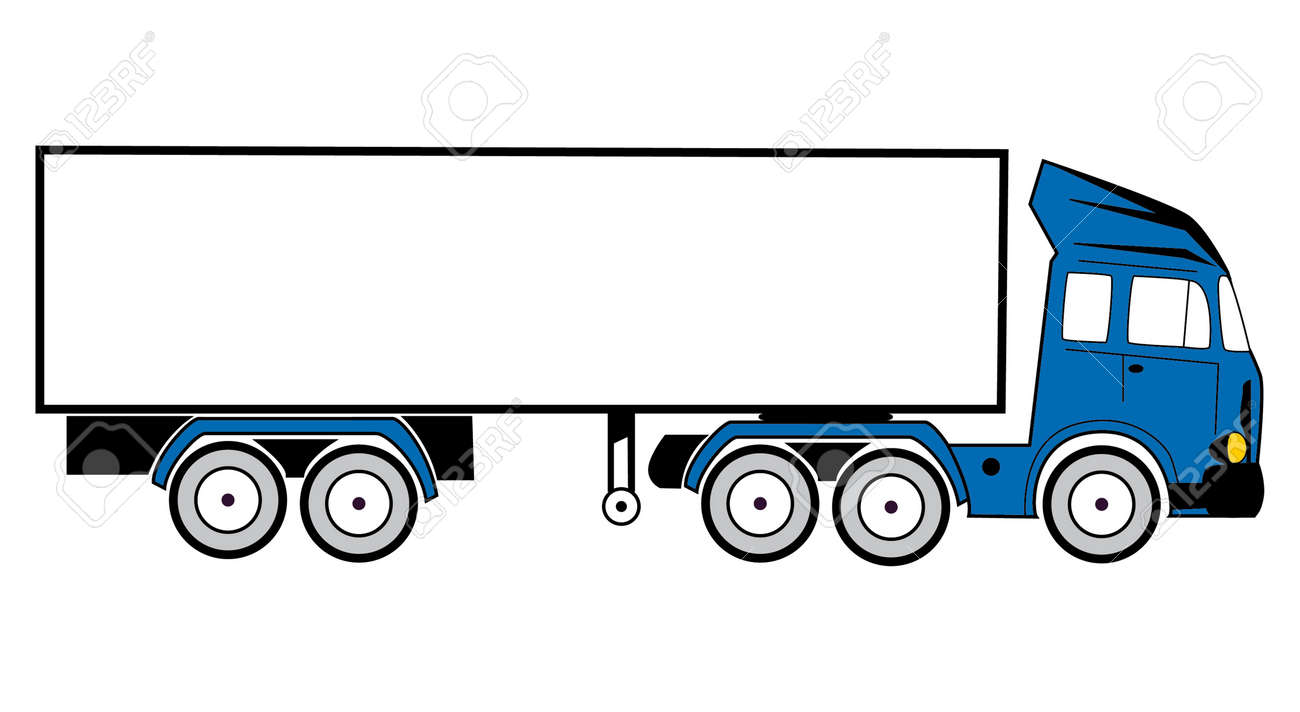 Tractor Trailer Icon – images free download