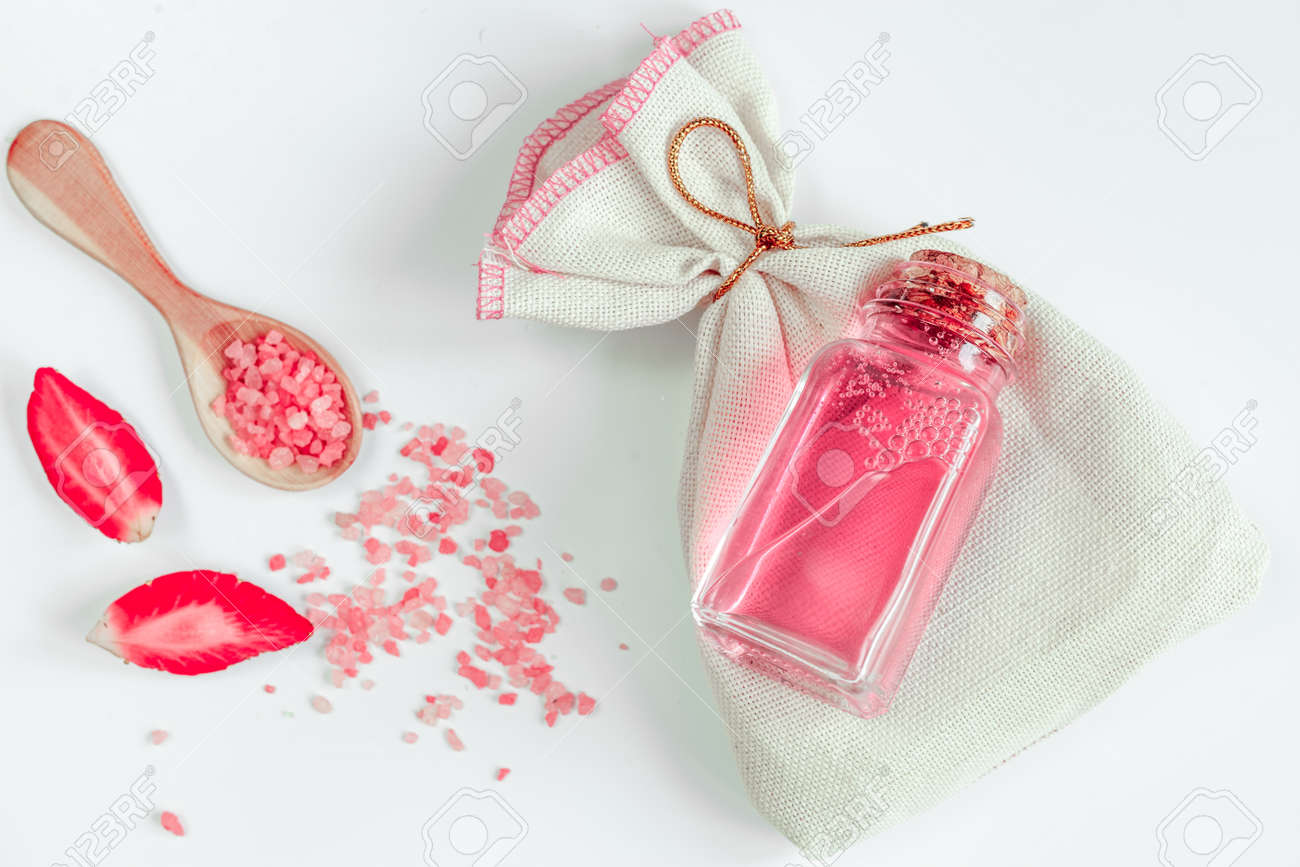 Organic Cosmetics With Extracts Of Berries On White Background ...