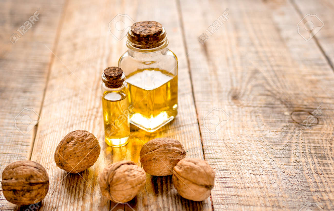 huile de noix bois