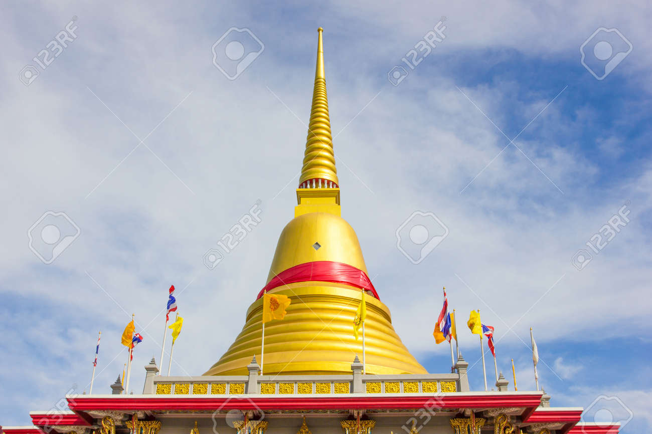 Pagoda in temple Stock Photo - 17131124