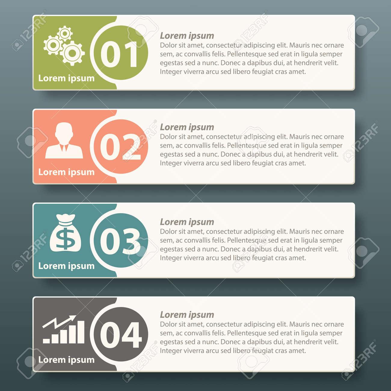 Diseño De Plantilla De Etiqueta Infografía Para Hacer Publicidad ...